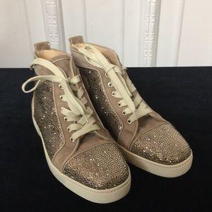Christian Louboutin  Tan Louis Sneaker New💥💥💥